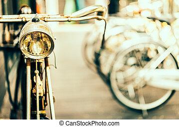 oud, antieke , fiets