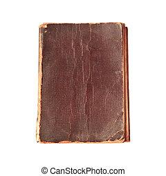 oud, boeken dek, textuur