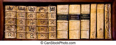 oud, boekjes , wet