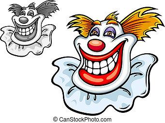 oud, circus clown