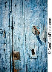 oud, deur