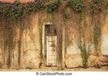oud, deur, (portugal)