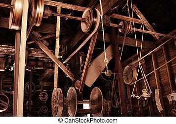 oud, fabriek