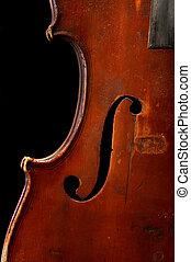 oud, fiddle
