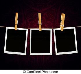 oud, film, frame, mal