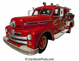 oud, firetruck
