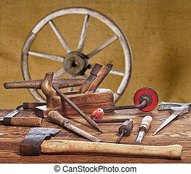 oud, gereedschap