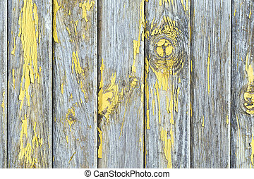 oud, geverfde, -, textuur, muur, hout, achtergrond, of
