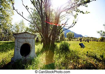 oud, graveyard
