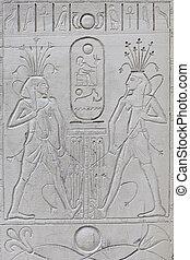 oud, hieroglyphics, egyptisch
