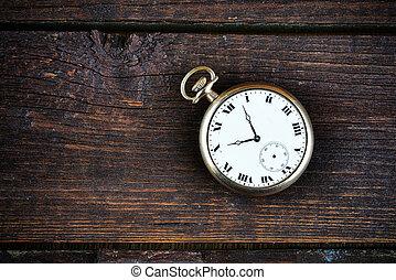oud, horloge