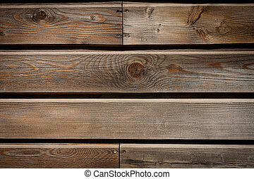 oud, houten plank, muur