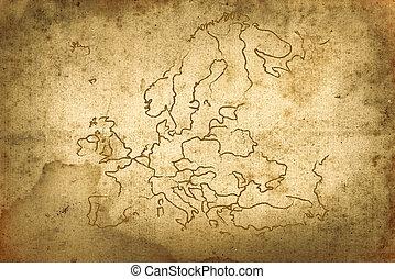 oud, kaart
