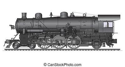 oud, locomotief