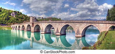 oud, otoman, brug