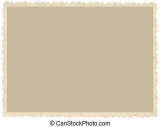 oud, oud, grunge, rand, sepia, foto, leeg, lege, horizontaal, achtergrond, vrijstaand, gele, beige, vintage foto, afbeelding, kaart, grens, frame, retro, postkaart, de ruimte van het exemplaar, groot, gedetailleerd, closeup