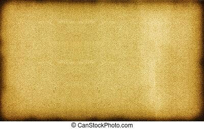 oud, ouderwetse , op, textuur, papier, afsluiten, perkament