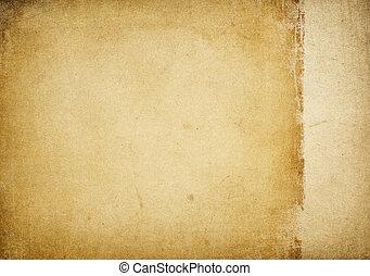 oud, papier, achtergrond, met, ruimte, voor, text.