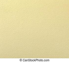 oud, papier, grunge, gele achtergrond