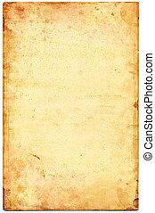 oud, papier, textured