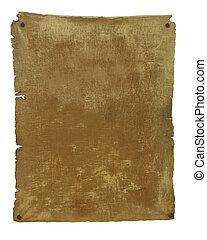oud, perkament, achtergrond, mal