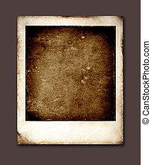 oud, polaroid
