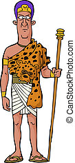 oud, priester, egyptisch