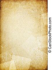 oud, ruimte, ouderwetse , text., papier, achtergrond