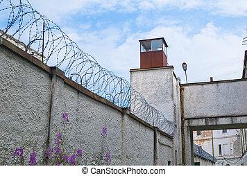 oud, sovjet, gevangenis, in, tallinn