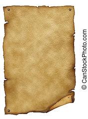 oud, tekst, papier, texture.antique, achtergrond, witte