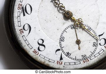 oud, tijdopnemer