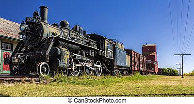 oud, trein