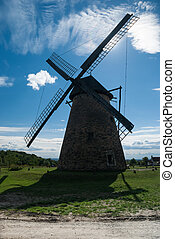 oud, windmolen
