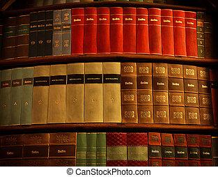 oude boeken, in, bibliotheek strahov