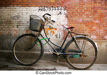 oude fiets, in, china