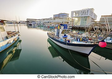 oude haven, limassol, cyprus