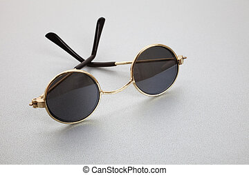 oude mode, zonnebrillen