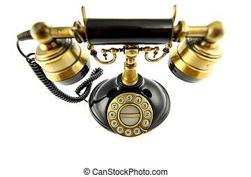 oude telefoon, fashioned