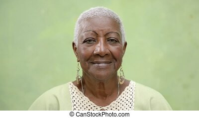 oudere mensen, verticaal, vrouwen