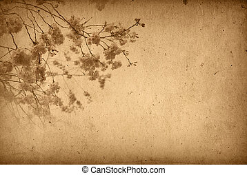 ouderwets, artistiek, bloem