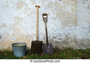 ouderwets, gereedschap