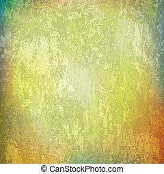 ouderwetse , abstract, grunge, achtergrond, textuur