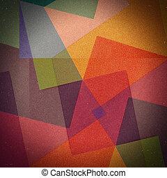 ouderwetse , abstract, kleuren achtergrond