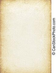 ouderwetse , achtergrond, manuscript, grunge
