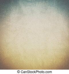 ouderwetse , achtergrond, met, textuur, van, oud, papier
