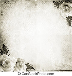 ouderwetse , achtergrond, trouwfeest, mooi