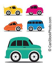 ouderwetse , anders, retro, /, auto