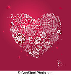 ouderwetse , arabesk, valentijn