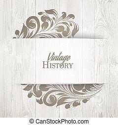 ouderwetse , card., geschiedenis