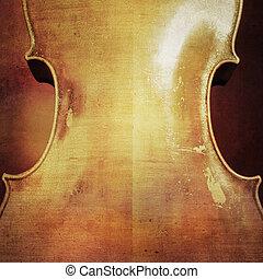 ouderwetse , cello, achtergrond